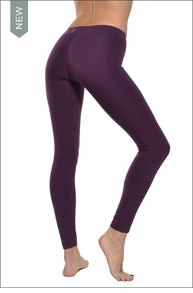 Low Rise Ankle Legging (Concord Grape) by Hard Tail Forever