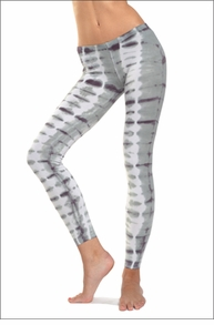 Low Rise Ankle Legging (Dinosaur Tie-Dye) by Hard Tail Forever