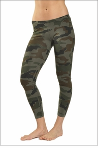 Low Rise Ankle Legging (Urban Camo) by Hardtail