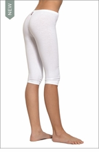 Low Rise Knee Legging (Hazy White) by Hardtail