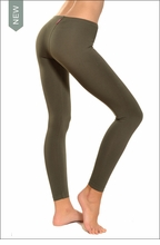 Lowrise Ankle Legging (Olive) by Hardtail