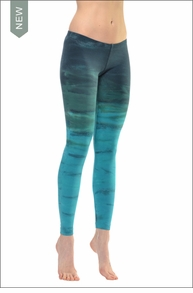 Lowrise Ankle Legging (RH32 Tie-Dye) by Hard Tail Forever