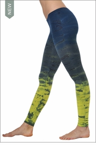 Lowrise Ankle Legging (Tie-Dye RH35) by Hard Tail Forever