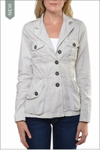 Officer's Jacket (4T-19, Fresh Linen) by Hardtail