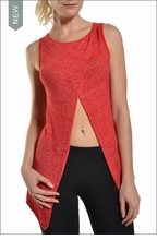 Reversible Split Tank (Ruby Red) by Hard Tail Forever