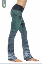 Roll Down Boot Leg Pants (RH36 Tie Dye) by Hard Tail Forever