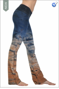 Roll Down Boot Leg Pants (RH37 Tie Dye) by Hard Tail Forever