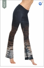 Roll Down Boot Leg Pants (RH38 Tie Dye) by Hard Tail Forever