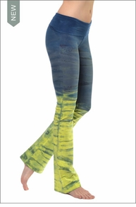 Roll Down Boot Leg Pants (Tie-Dye RH35) by Hard Tail Forever