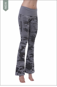 Roll Down Boot (W-698, Monochromatic Gray Camo) by Hard Tail Forever