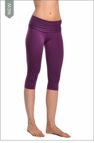 Roll Down Knee Legging (Concord) by Hard Tail Forever
