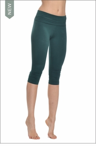 Roll Down Knee Legging (Ivy) by Hard Tail Forever