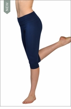 Roll Down Knee Legging (Past Midnight) by Hard Tail Forever