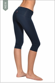 Roll Down Knee Legging (Past Midnight) by Hardtail
