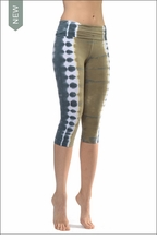 Roll Down Knee Legging (W-394, Tie-Dye ESS4) by Hard Tail Forever