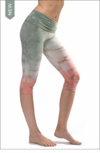 Roll Down Knee Legging (W-394, Tie-Dye RDH8) by Hard Tail Forever