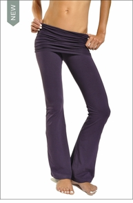 Scrunch Waist Flare Pant (Purple Rain) by Hardtail