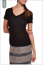 Sexy V-Neck Tee (Black) by Hardtail