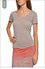 Sexy V-Neck Tee (Driftwood) by Hardtail