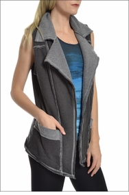 Sherpa Vest (Heather/Granite) by Hardtail