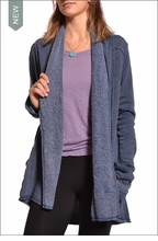 Slouchy Cardigan (Night) by Hardtail
