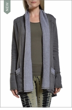 Slouchy Cardigan (Olive) by Hardtail