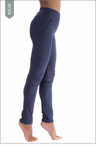 Sonia Straight Leg Pants (AB6465, Navy) by Anatomie