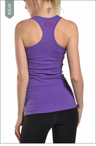 Supplex Long Skinny Racer Tank (Iris) by Hardtail