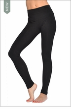 High Rise Ankle Legging (Black) by Hardtail