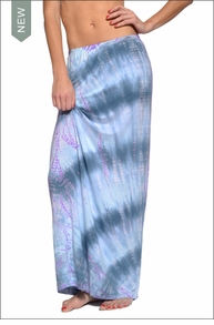 Straight Maxi Skirt (Pastel Lizard Tie-Dye) by Hardtail Forever