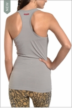 Textured Racer Back Tank (Nickel) by Hardtail
