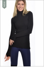 Thermal Layer Turtle Neck (Black) by Hardtail