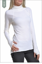 Thermal Layered Turtleneck (Cream) by Hardtail