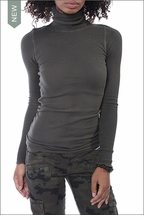 Thermal Long Sleeve Turtle (Olive) by Hardtail