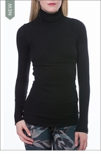Thermal Long Sleeve Turtle (TH-35, Black) by Hardtail