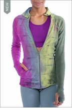 Three Button Jacket (CS-106, Tie-Dye VR1) by Hardtail