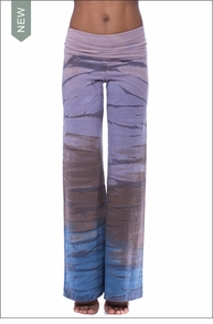 Wide Leg Roll Down Pants (W-326, Tie-Dye RH46)