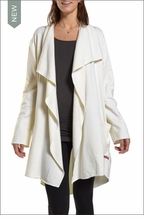 Wrap Cardigan (Cream) by Hardtail
