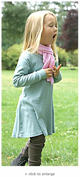 Girls L/S Tunic Dress