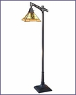 Arts and Crafts Parlor Stained Glass Floor Lamp 1573