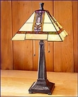 Arts and Crafts Stained Glass Table Lamp 1549