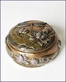 Arts & Crafts Dragonfly Trinket Box
