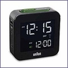 Braun BNC008 Digital Travel Alarm Clock Black