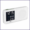 Braun BNC010WH-RC Digital Alarm Clock Radio White