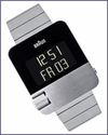 Braun Prestige BN10 Digital Watch S/S Bracelet