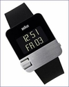 Braun Prestige BN10 Digital Watch S/S with Rubber Strap