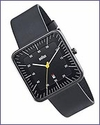 Braun Square Watch Black by Dietrich Lubs and Dieter Rams