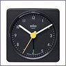 Braun Travel Alarm Clock AB1A Black by Dieter Rams & Dietrich Lubs