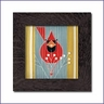 Charley Harper Autumn Edibles Framed Tile