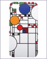 Frank Lloyd Wright Coonley Playhouse iPhone 4/4S Case